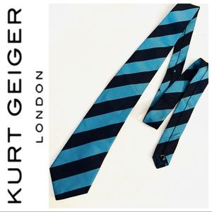 BRAND NEW KURT GEIGER 100 % SILK Men's NECKTIE Tie